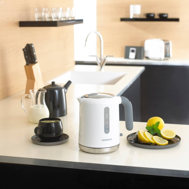 Kenwood Wasserkocher der Serie Blanc; Fotocredit: Kenwood