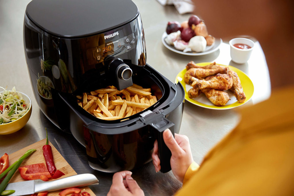 Philips Heißluft-Fritteuse Airfryer Avance Turbostar; Fotocredit: Philips
