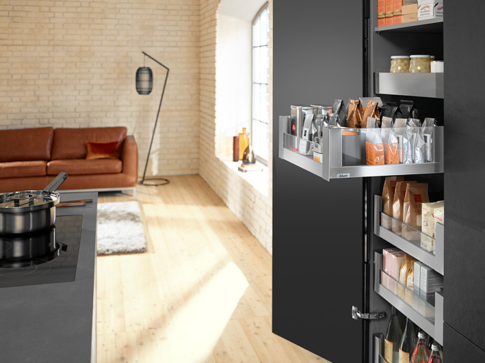 Blum SPACE TOWER mit LEGRABOX free; Fotocredit: Blum