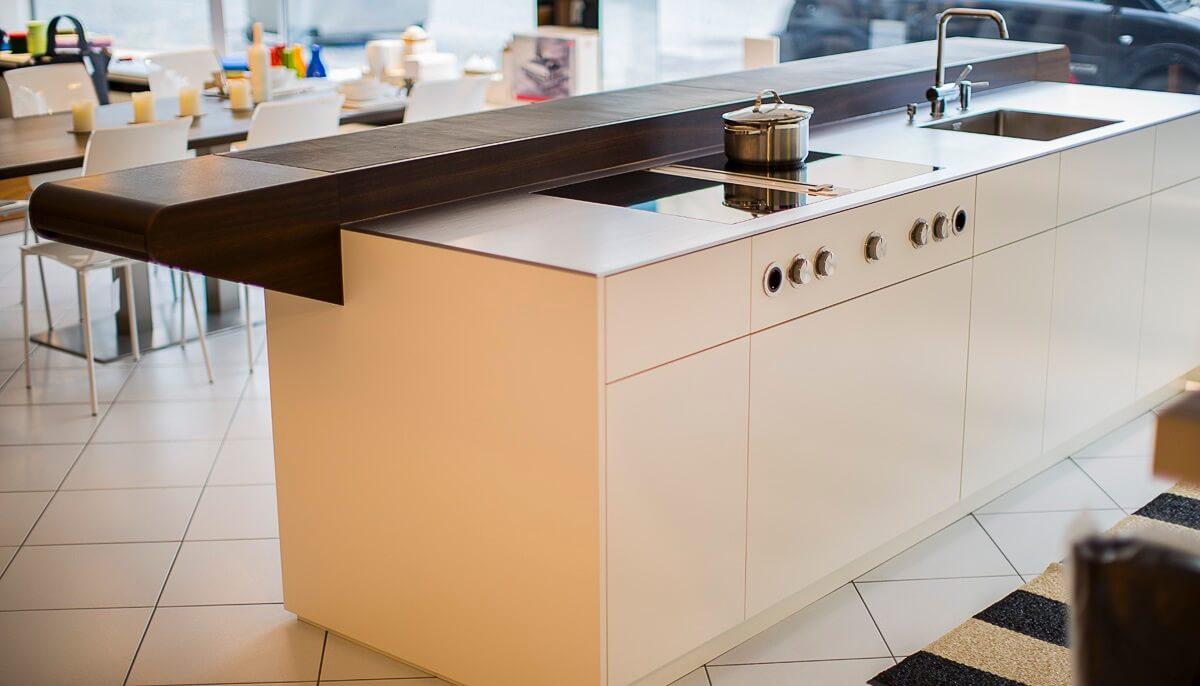 moderne küche mit bar: 6 ideen für eine bartheke aus holz, stein ... - Kleine Kchen Mit Theke