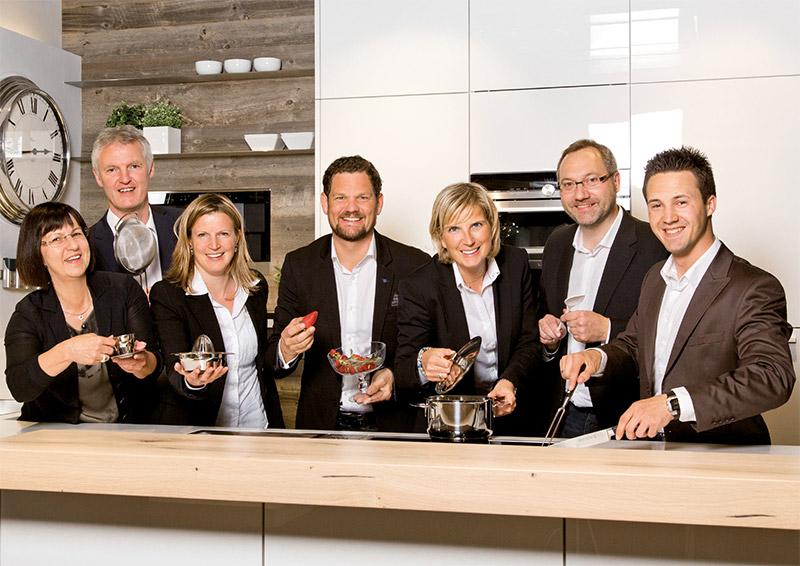 Das Team von Schwab Küchen Salzburg freut sich auf deinen Besuch