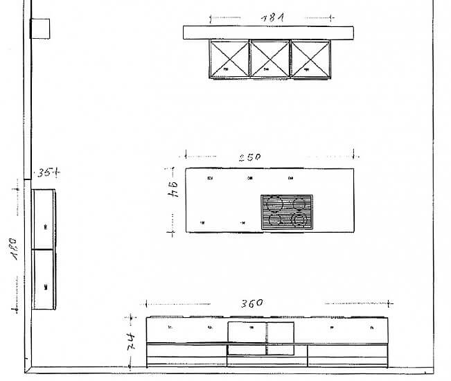 Poggenpohl Ausstellungsküche Modell PlusModo Aus Lack Mit