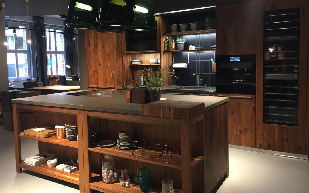 moderne ausstellungsk che im landhausstil von team7 modell loft zum abverkaufspreis mit. Black Bedroom Furniture Sets. Home Design Ideas