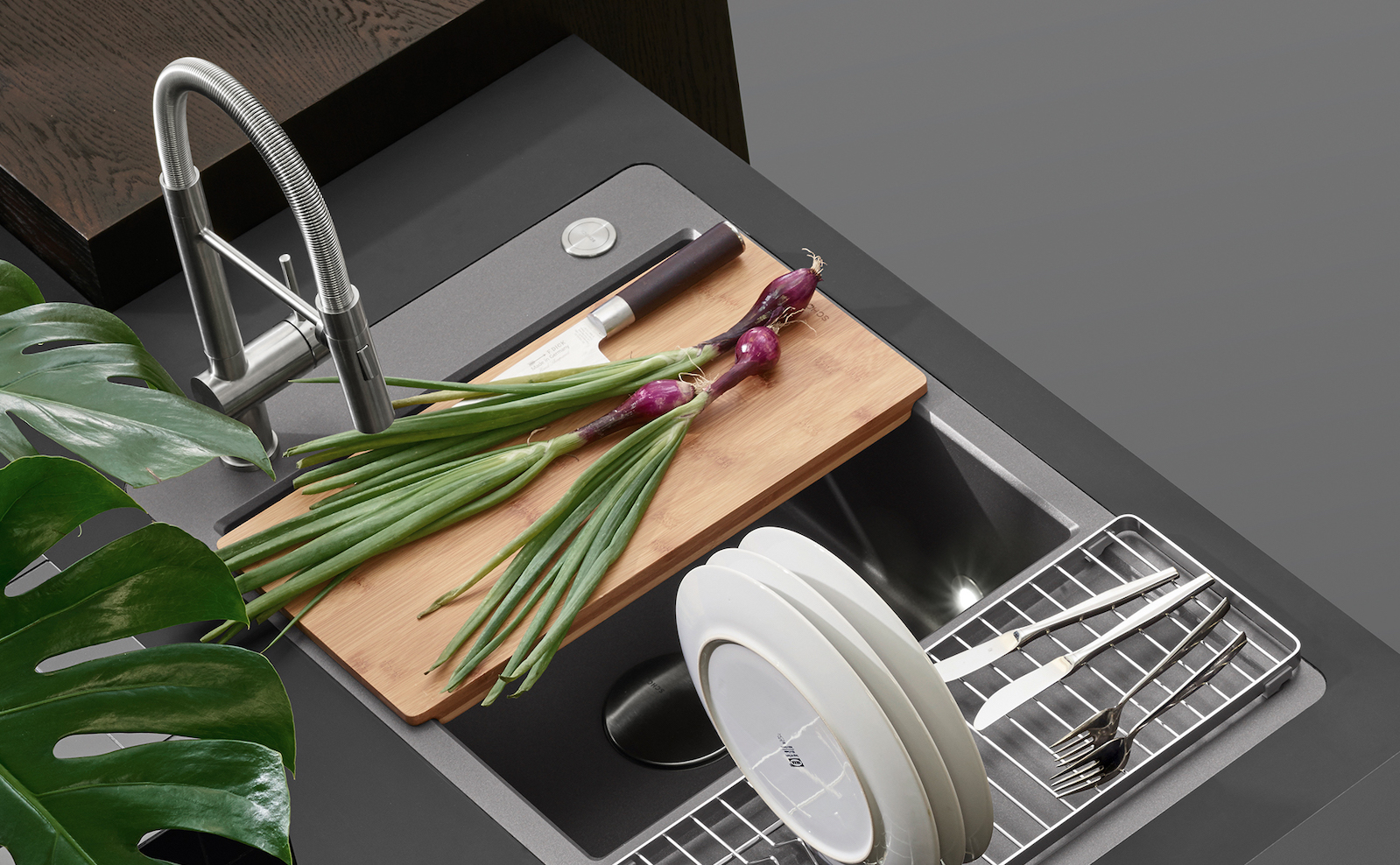 Küchenarmaturen in allen Farben und Formen: SCHOCK präsentiert für jedes Küchen-Design die passende Armatur