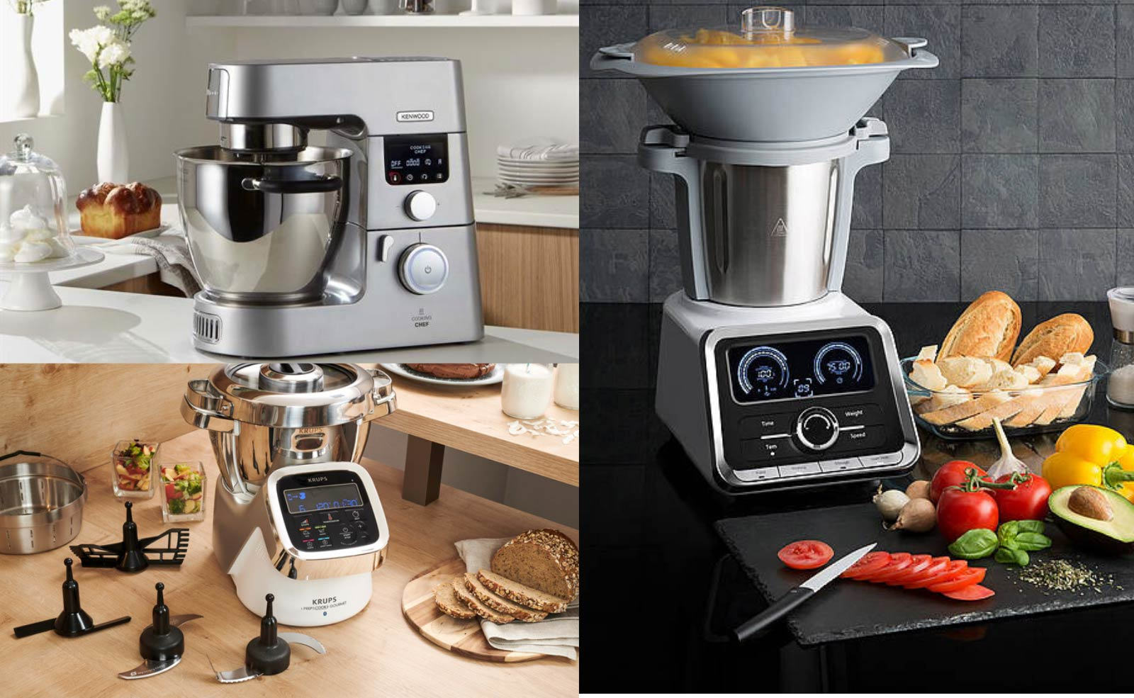 Thermomix Alternativen von Bosch, Kenwood, Krups und Co im Verlgeich 2020
