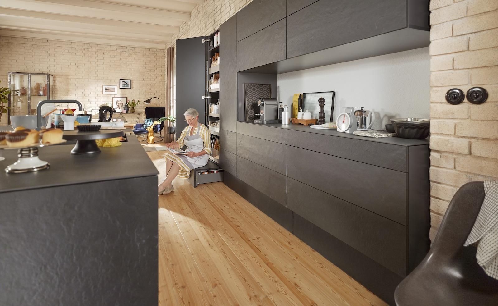 Küchen für mehrere Generationen: Ergonomische Küchen bringen viel Komfort für Alt und Jung
