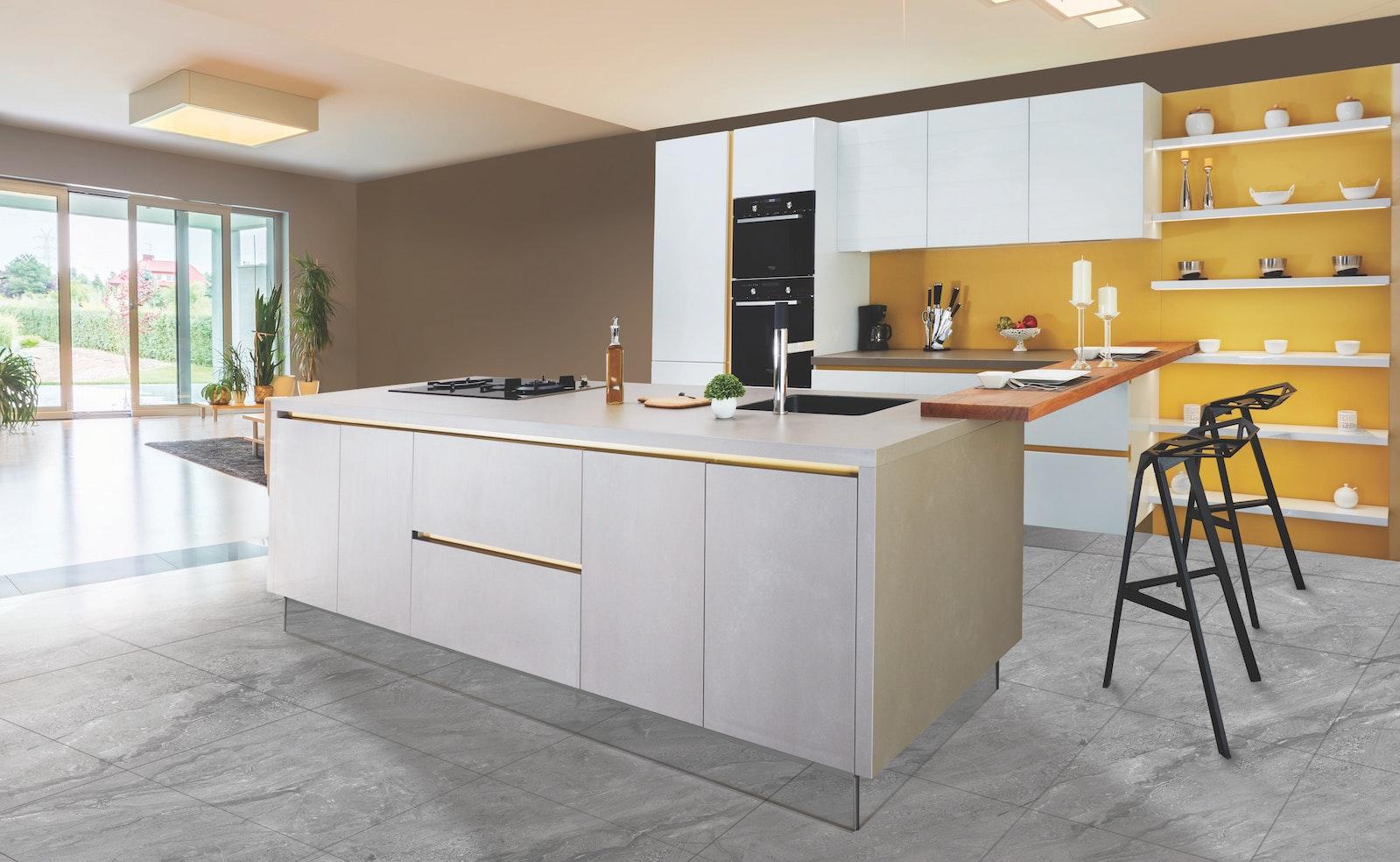 Bodenbelag in der Küche: Welches Material eignet sich?