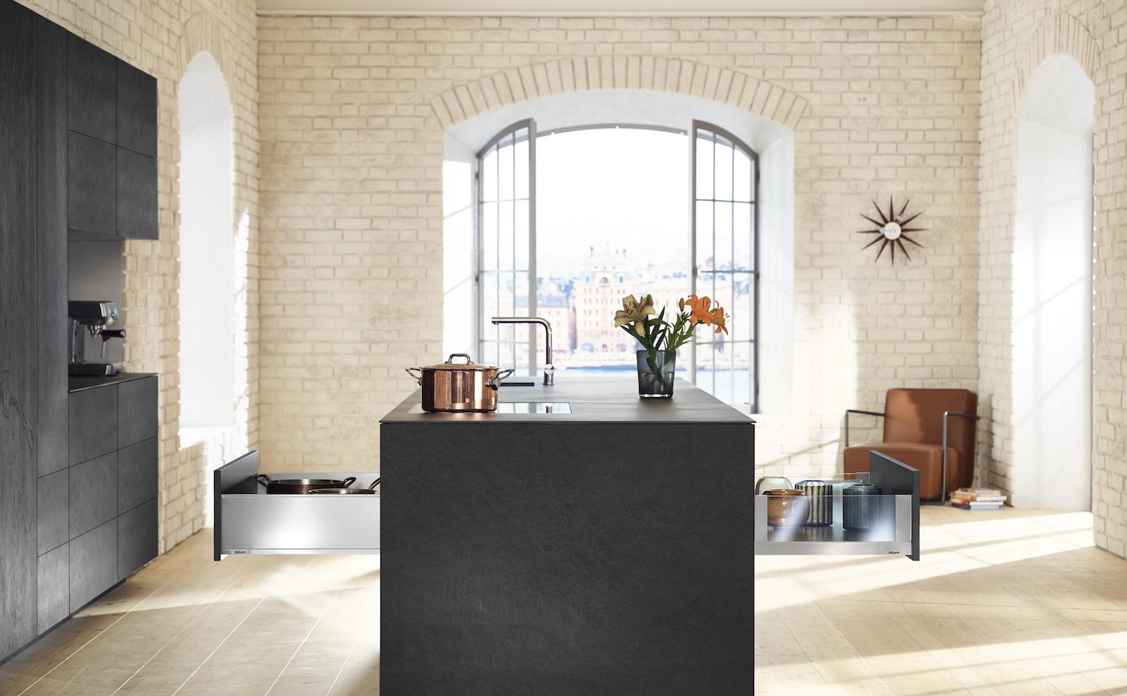 Du planst eine Designerküche? Dann nur mit LEGRABOX!