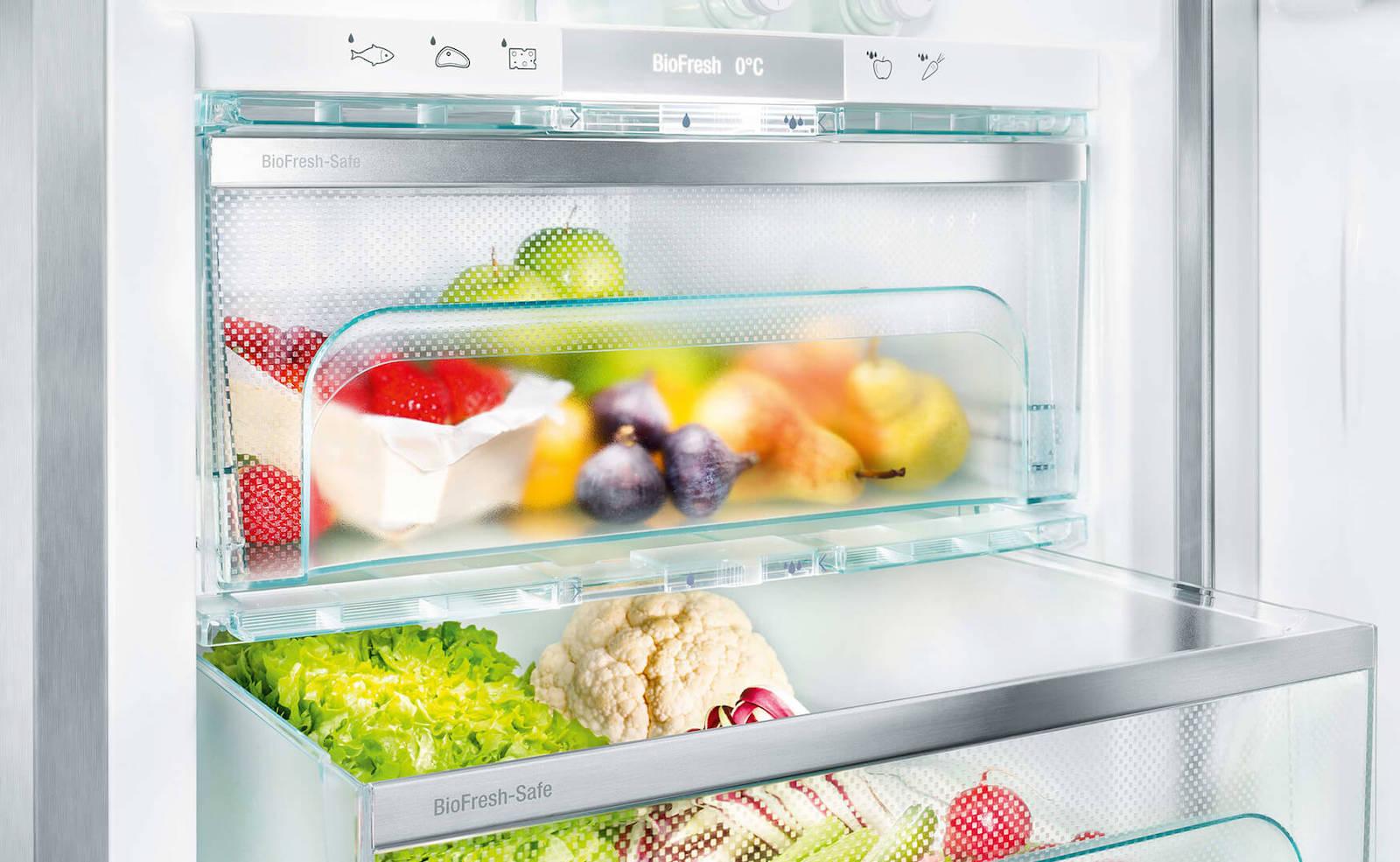 BioFresh Kühlschränke von Liebherr: Lebensmittel länger frisch halten dank Null-Grad-Zone