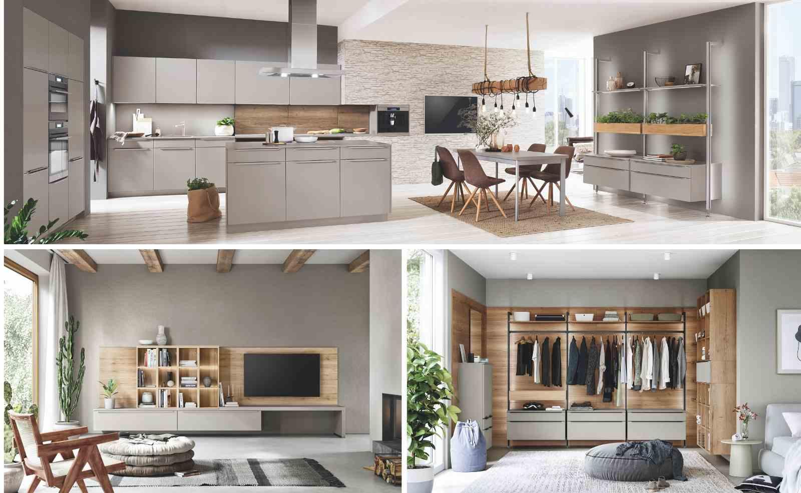 """""""more than kitchen"""": Mit nobilia von der Küche aus den Wohnraum gestalten"""
