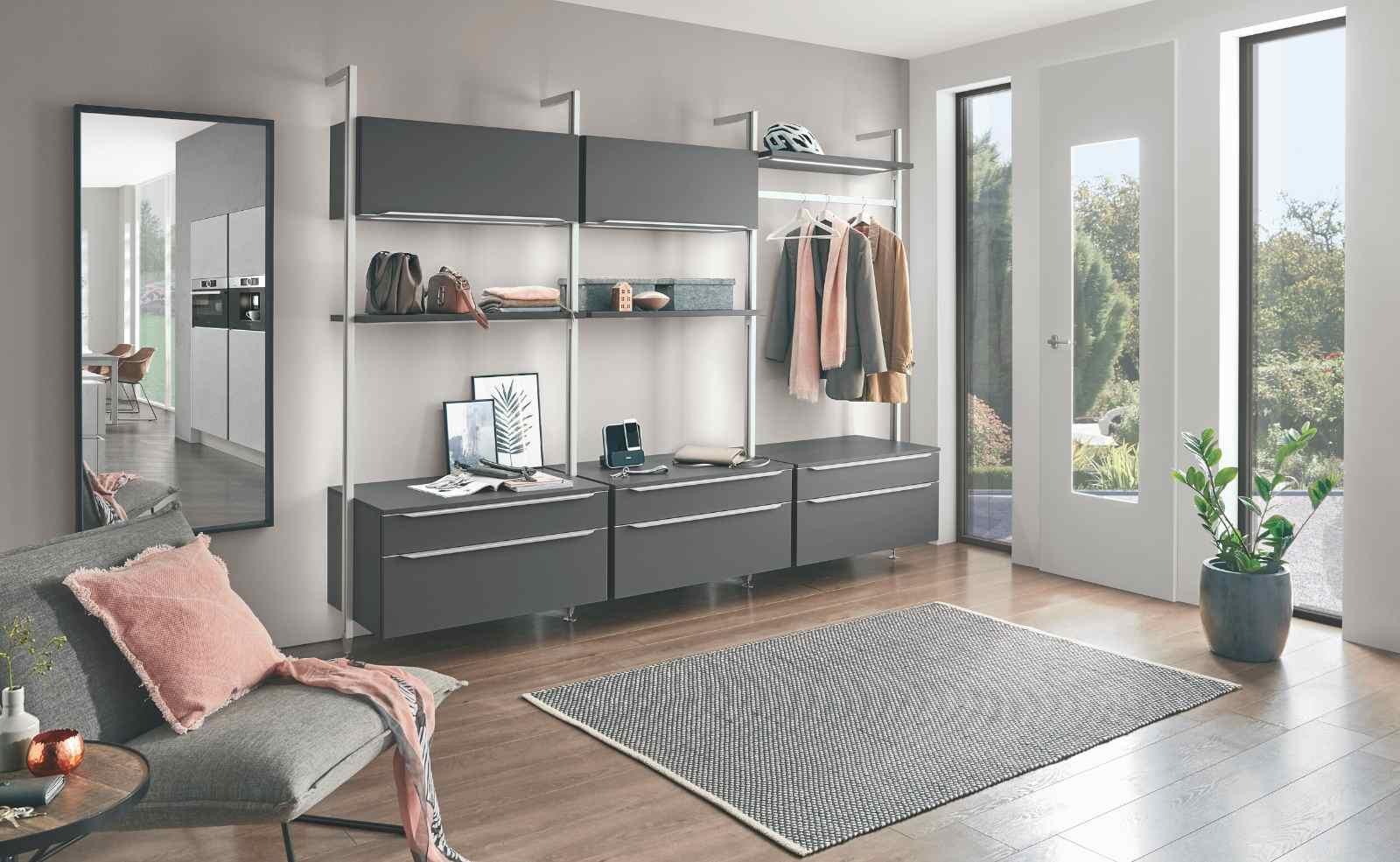 Regalsysteme von nobilia: Individuell planbarer Stauraum für Küche und Wohnraum