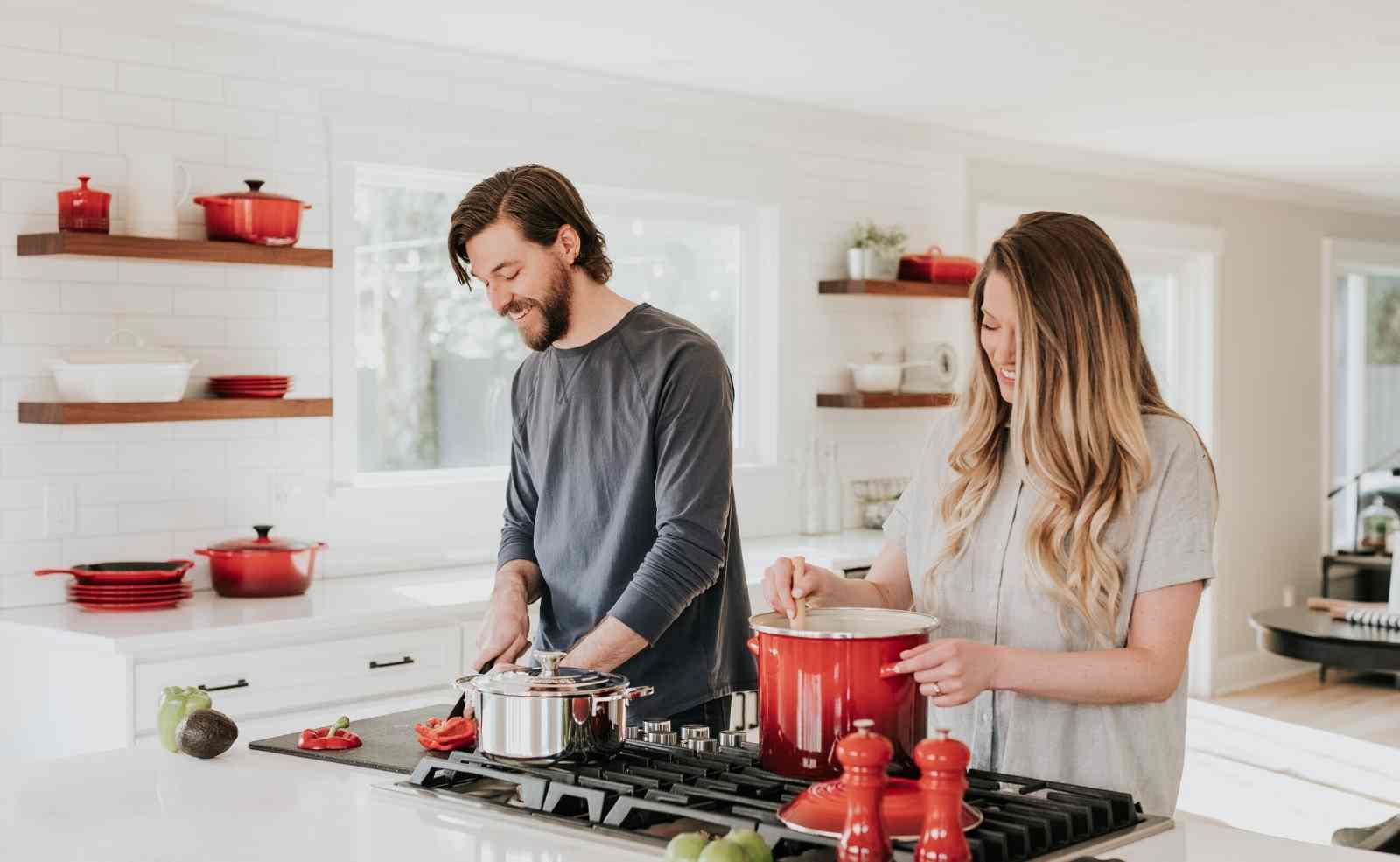 Das Arbeitsdreieck: Küchenbereiche richtig anordnen