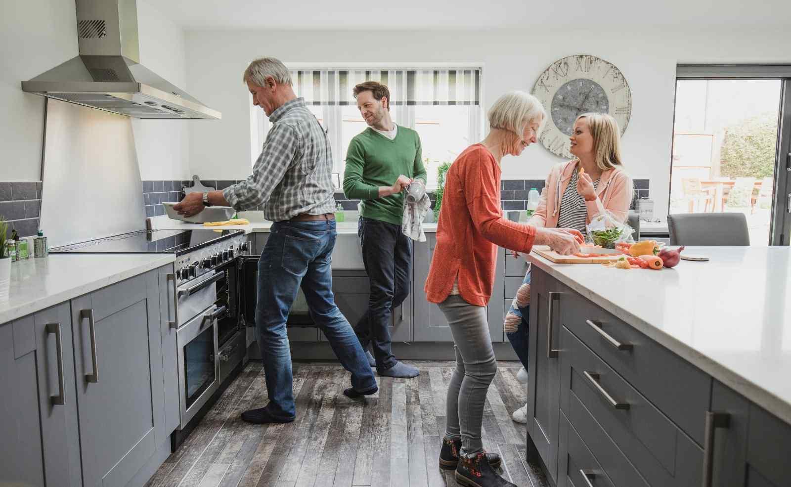 Ergonomie in der Küche: gesunde und praktische Küchenplanung