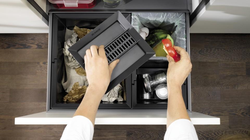 Abfallsystem für die Küche: Mühelose Mülltrennung
