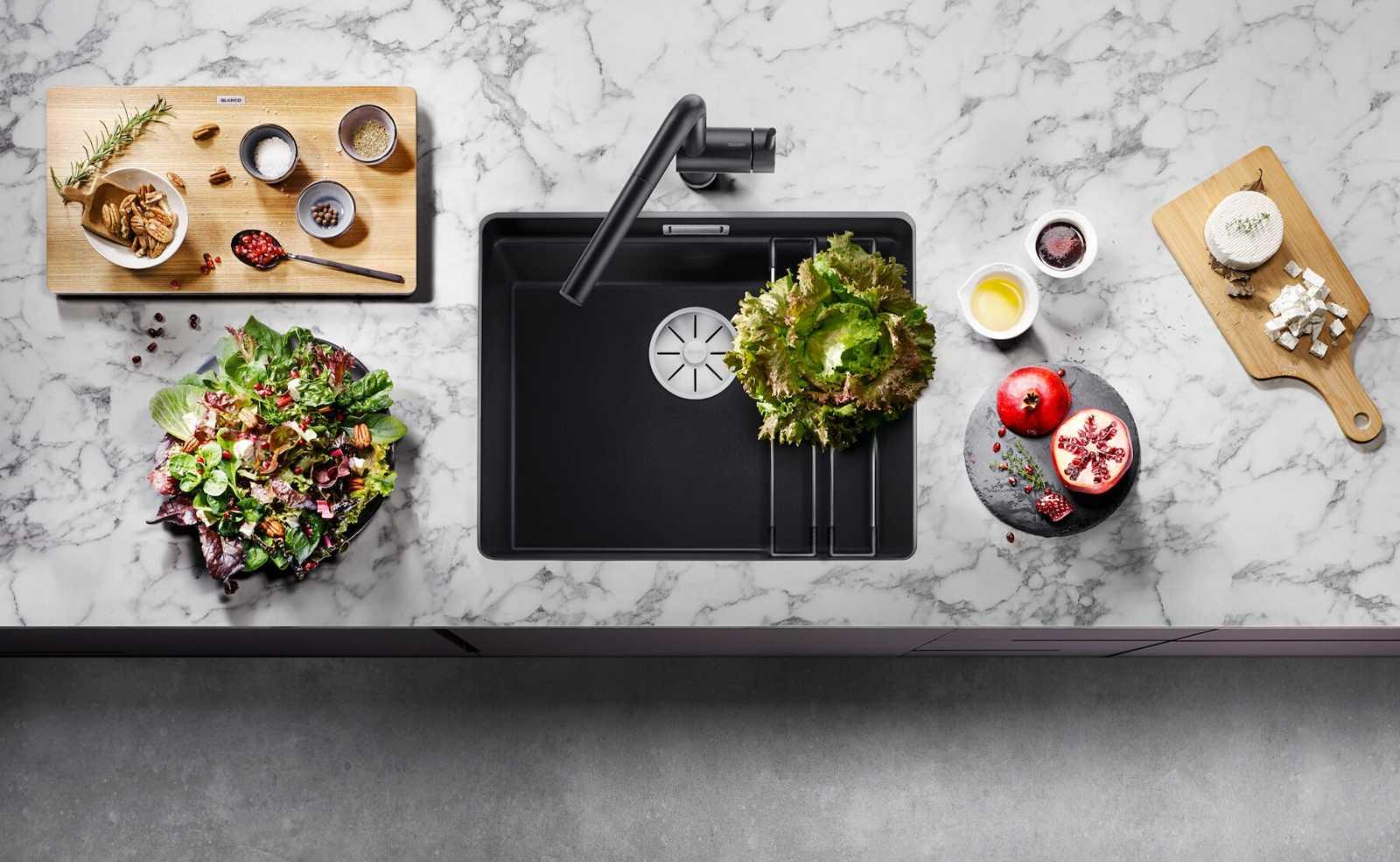Funktionalität & Ästhetik: Spülen für Design-Küchen von BLANCO
