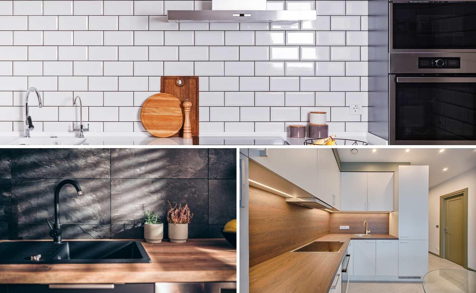 Küchenrückwand: Welches Material eignet sich für die Nische?