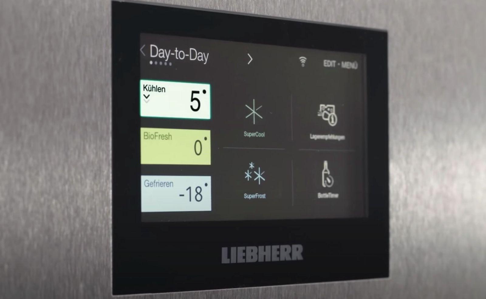 """Smarter Kühlschrank von Liebherr: Intelligente Vernetzung mit neuem """"SmartDevice"""""""