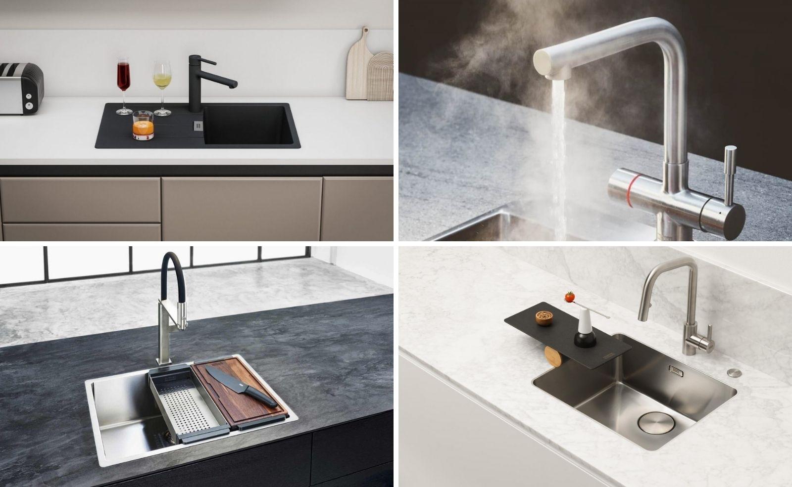 Küchentrends 2021: Innovative Spülen & Armaturen Ideen von Franke