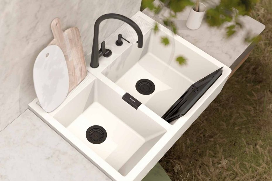 Nachhaltige Küchenspülen: CRISTADUR® Green Line von SCHOCK