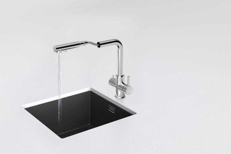 Trinkwasser aus dem Hahn: SCHOCK Armatur Vitus mit Wasserfilter-Funktion